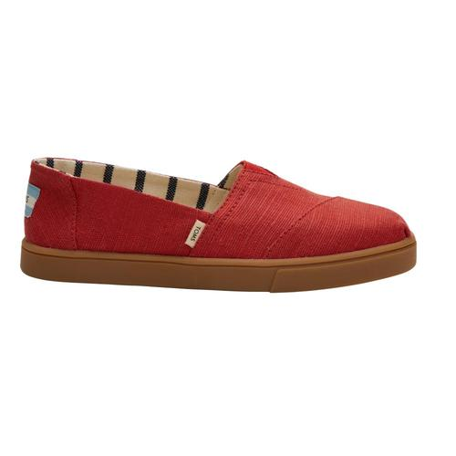 TOMS Women's Brick Red Heritage Canvas Cupsole Alpargatas Brkred.Canv
