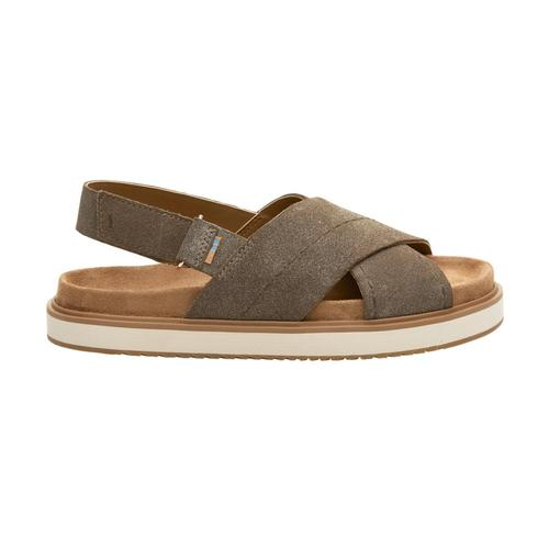 Toms Women's Dust Gold Suede Marisa Sandals Dstgoldsuede