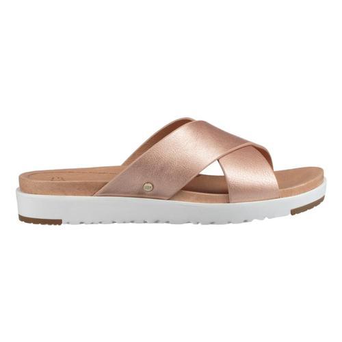 UGG Women's Kari Metallic Sandals Rosegld_rgl