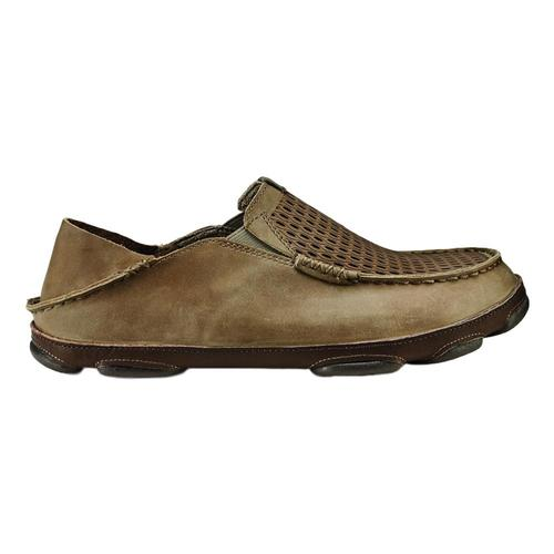 OluKai Men's Moloa Aho Shoes Clay.Husk_106z