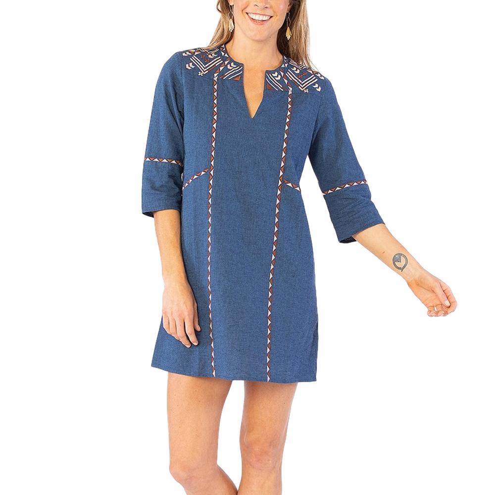 Carve Designs Women's Estrella Dress INDIGO