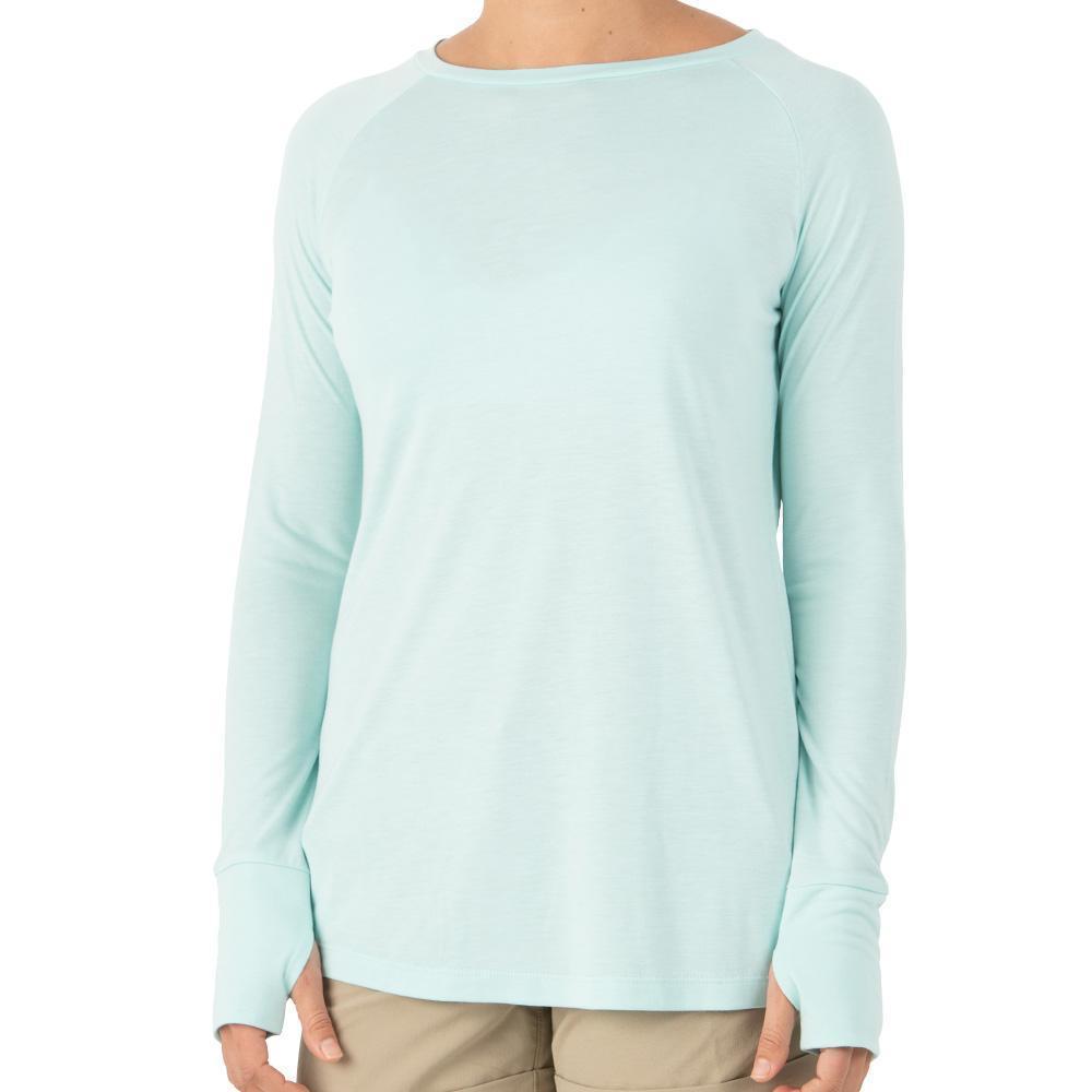 Free Fly Women's Weekender Long Sleeve Shirt BLUECHILL