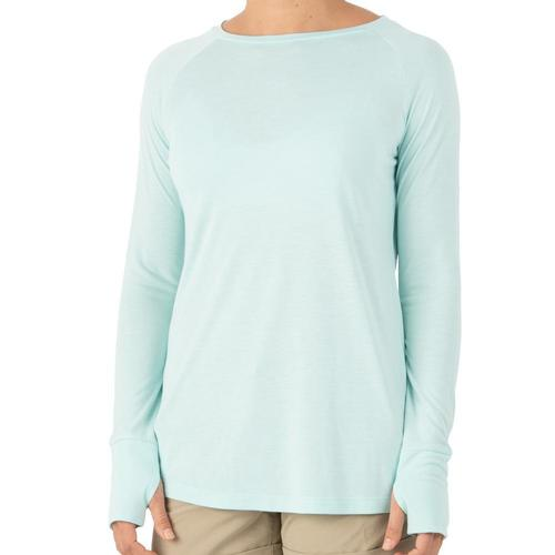 Free Fly Women's Weekender Long Sleeve Shirt Bluechill