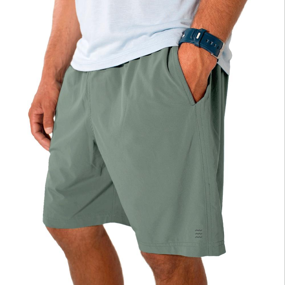 Free Fly Men's Breeze Shorts GREEN114
