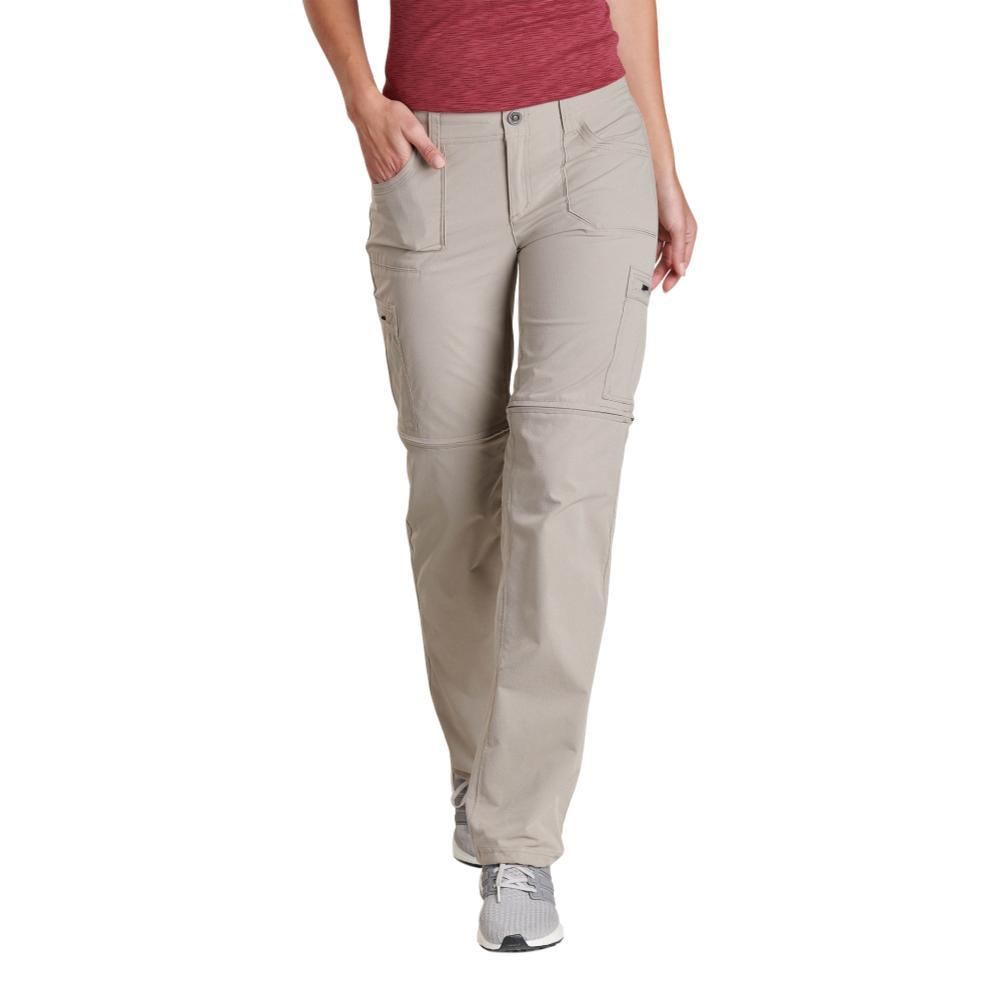 KUHL Women's Horizn Convertible Pants - 32in Inseam KHAKI