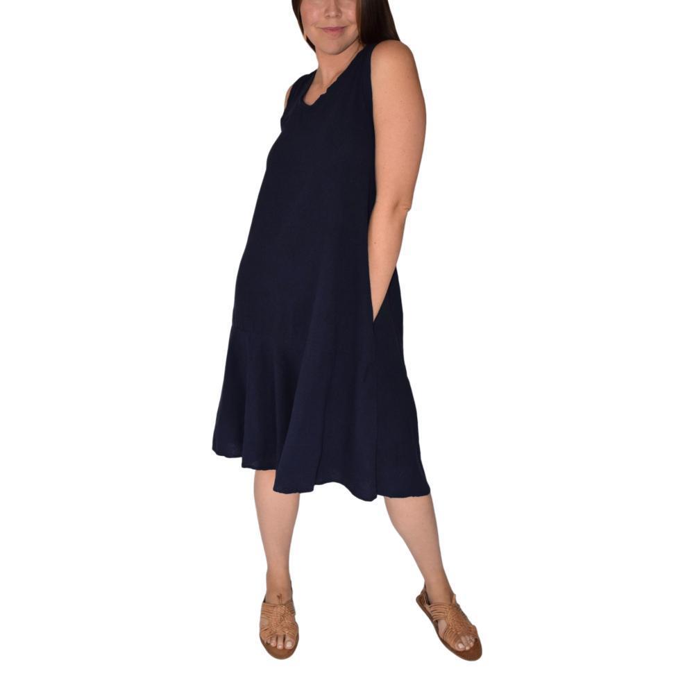 Honest Cotton Pai Pocket Dress NAVY