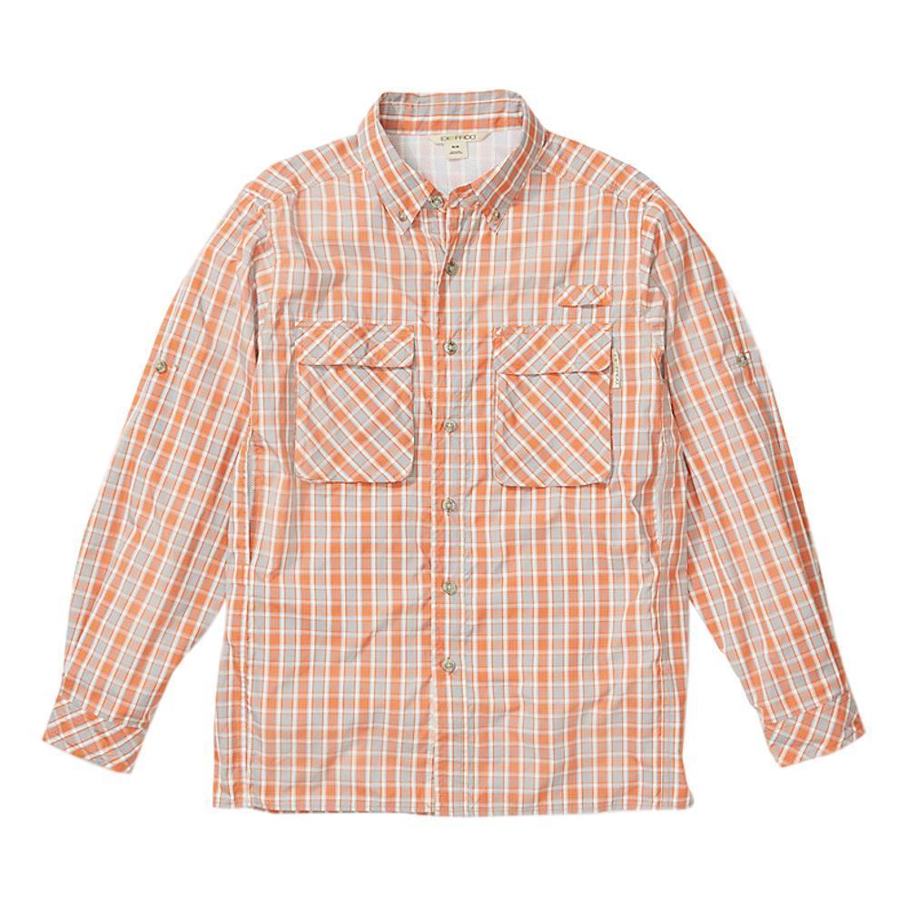 ExOfficio Men's Air Strip Check Plaid Long Sleeve Shirt GOLD_2304