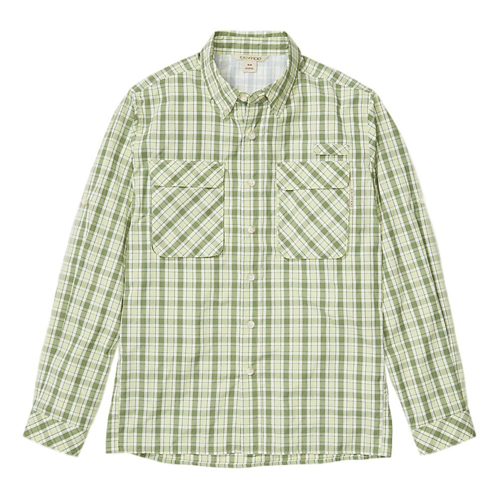 ExOfficio Men's Air Strip Check Plaid Long Sleeve Shirt MARG_6340