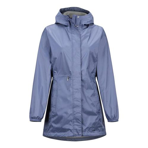ExOfficio Women's Lagoa Rain Jacket Blueheron