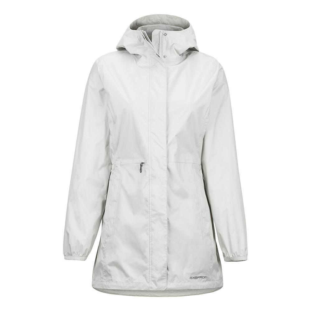 ExOfficio Women's Lagoa Rain Jacket PLATINUM