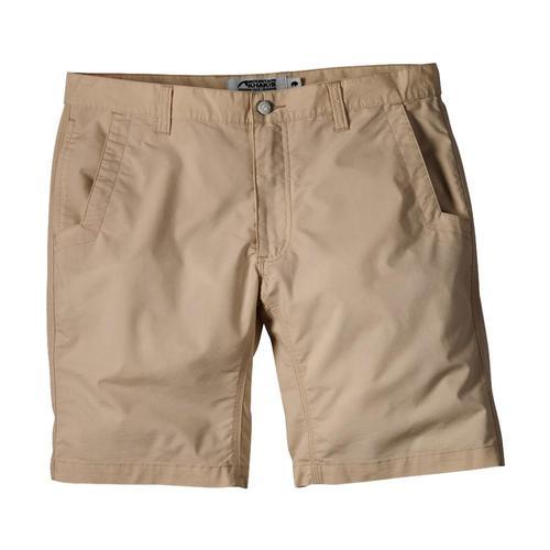 Mountain Khakis Men's Stretch Poplin Shorts - Relaxed Fit Khaki