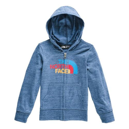 The North Face Toddler Tri-Blend Full Zip Hoodie Bluhth_dw4