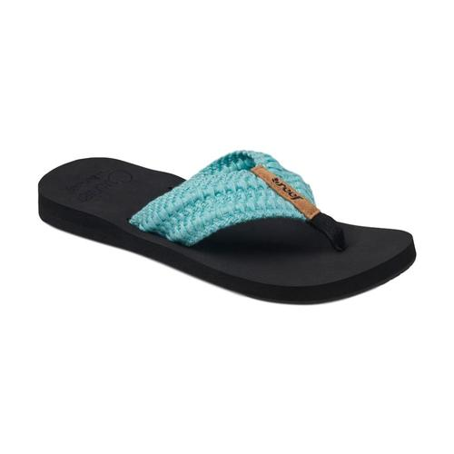 Reef Women's Cushion Threads Sandals Aqua_aqu