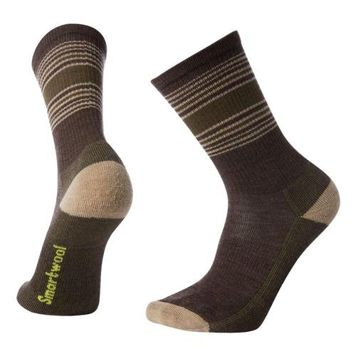 Smartwool Men's Hike Striped Light Crew Socks Chstnt_207