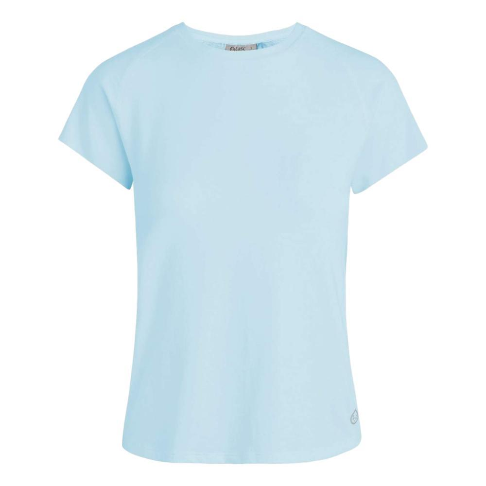 tasc Women's Move Free Short Sleeve T Shirt COOLBLUE