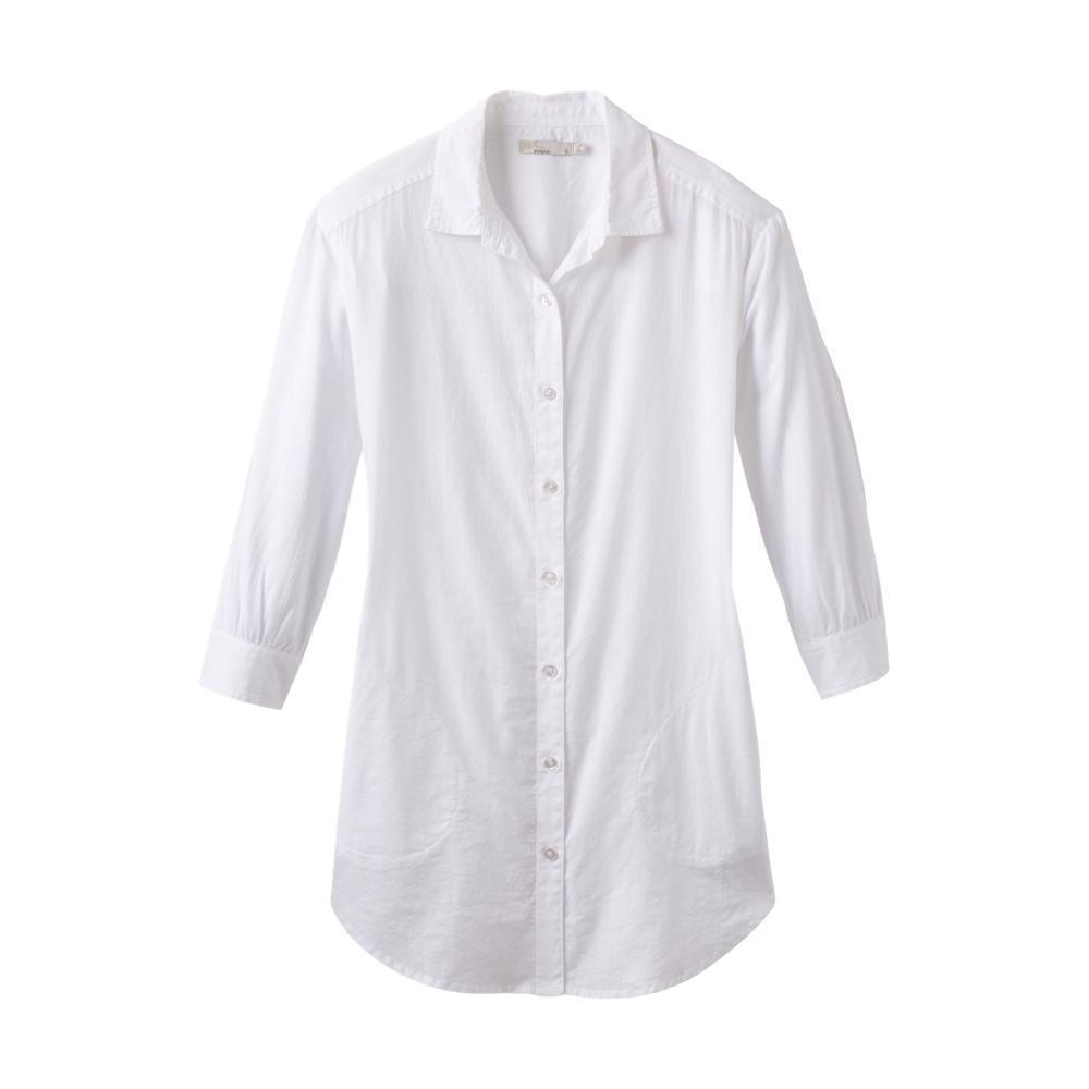 prAna Women's Mauzy Tunic WHITE