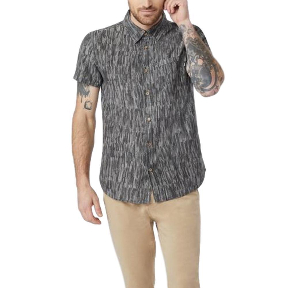 tentree Men's Mancos Short Sleeve Button Up HTHRMETEOR