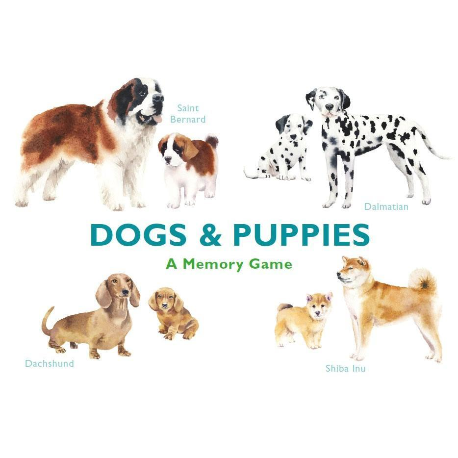 Dogs & Puppies : A Memory Game