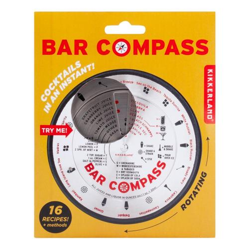 Kikkerland Design Bar Compass