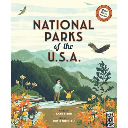 National Parks of the U.S.A. by Kate Siber