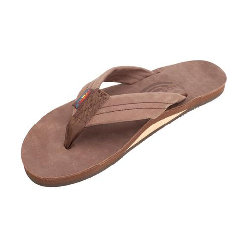 Rainbow Sandals Women's Single Layer Premier Leather with Arch Support Sandals Expr