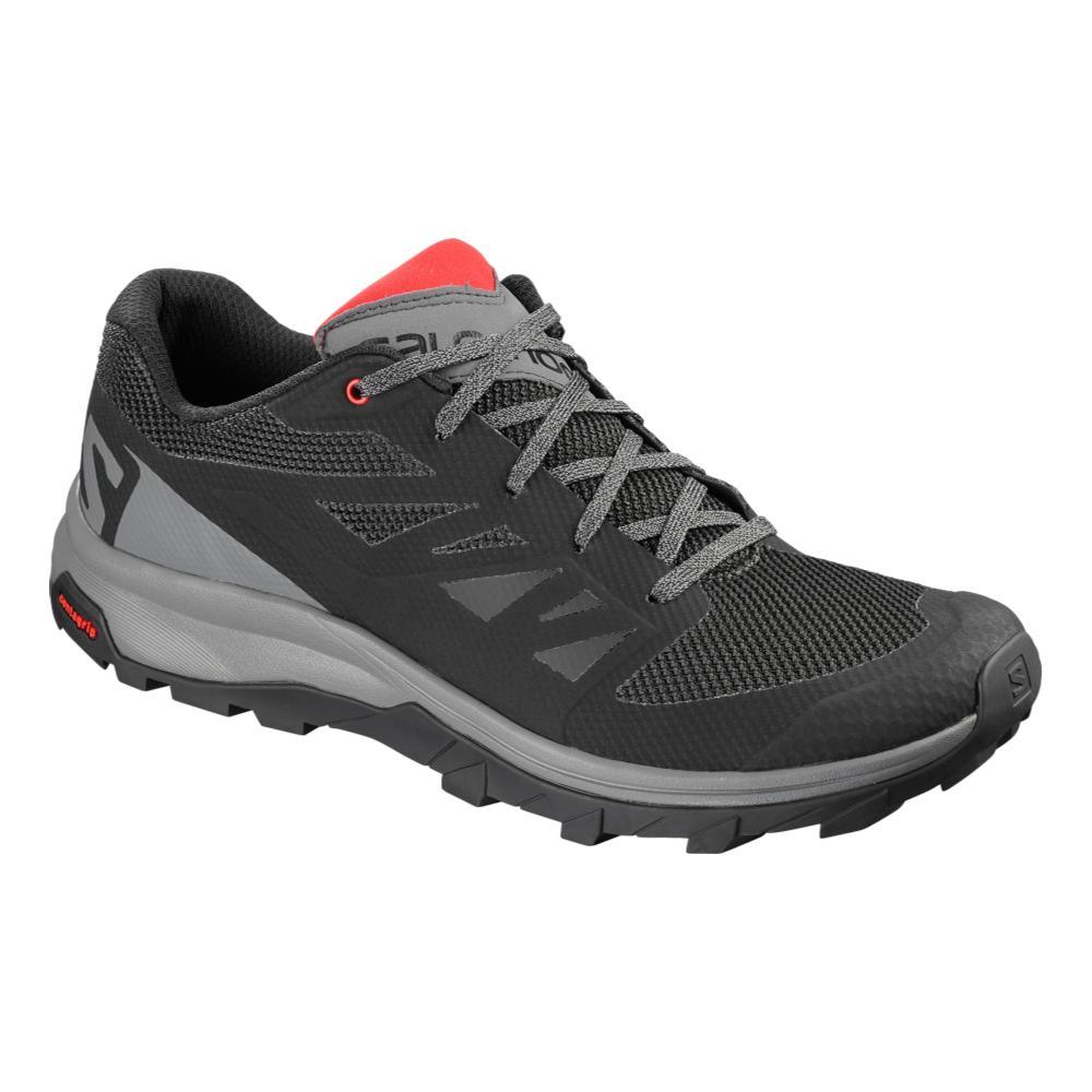 Salomon Men's Outline Hiking Shoes BLK.HRRED