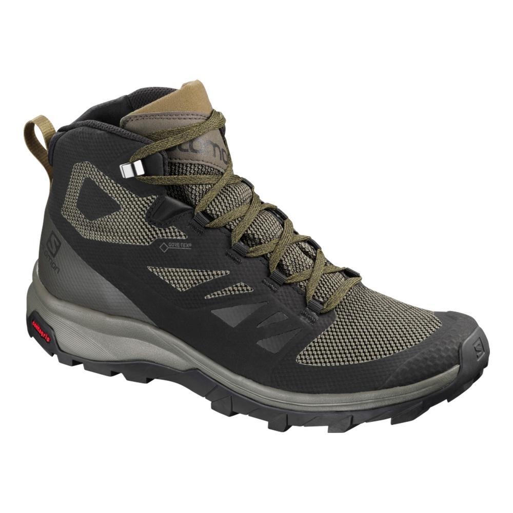 Salomon Men's Outline Mid GTX Hiking Shoes BLK.CAPR