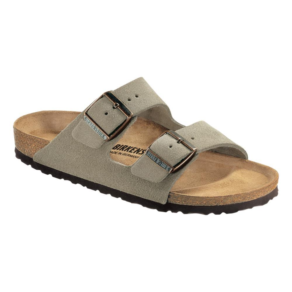 Birkenstock Women's Arizona Suede Leather Sandals TAUPESD