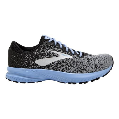 Brooks Women's Launch 6 Road Running Shoes Blk.Prm.Blu_032