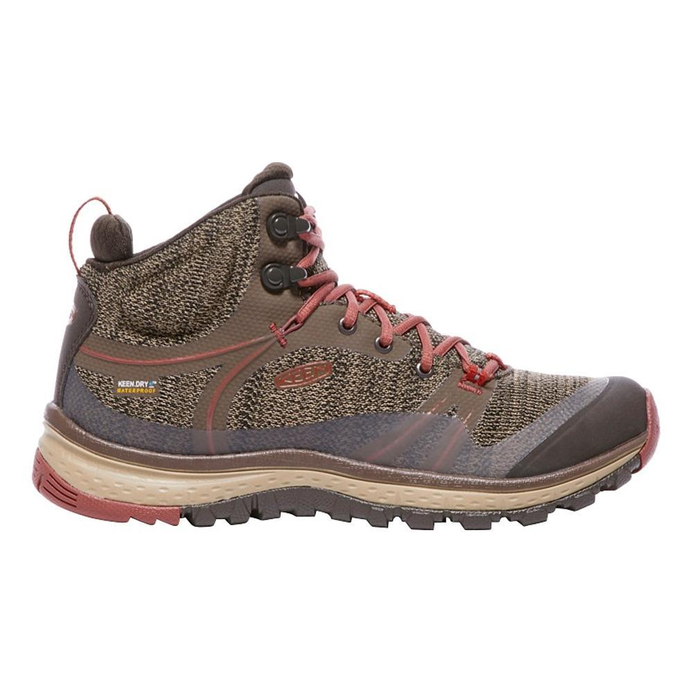 KEEN Women's Terradora Waterproof Mid Hiking Boots CANTN.MARS