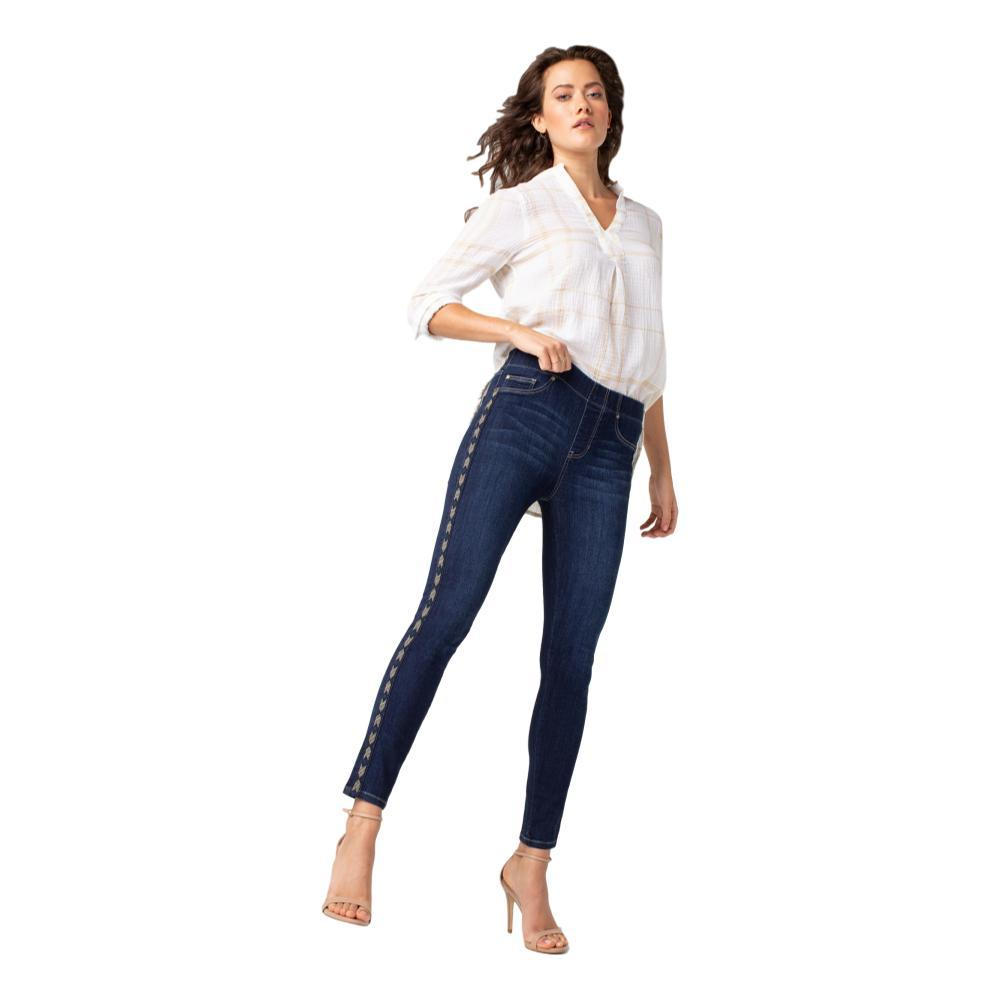 Liverpool Women's Chloe Ankle Skinny Tape Inset High Performance Jeans DKGRIFFITH