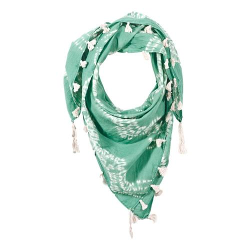 Matr Boomie Shibori Square Scarf - Fields of Green Fieldsgreen