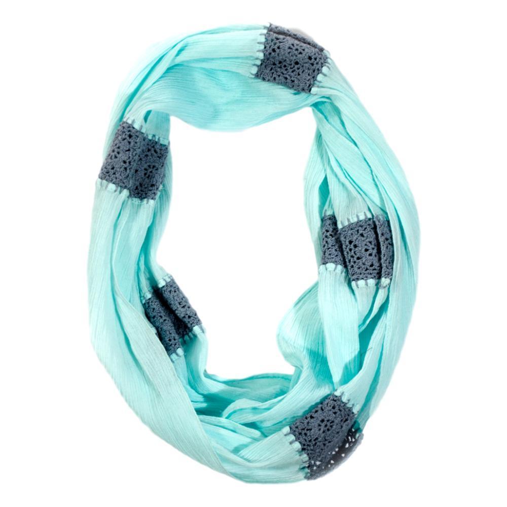 Matr Boomie Crochet Infinity Scarf - Aqua AQUA