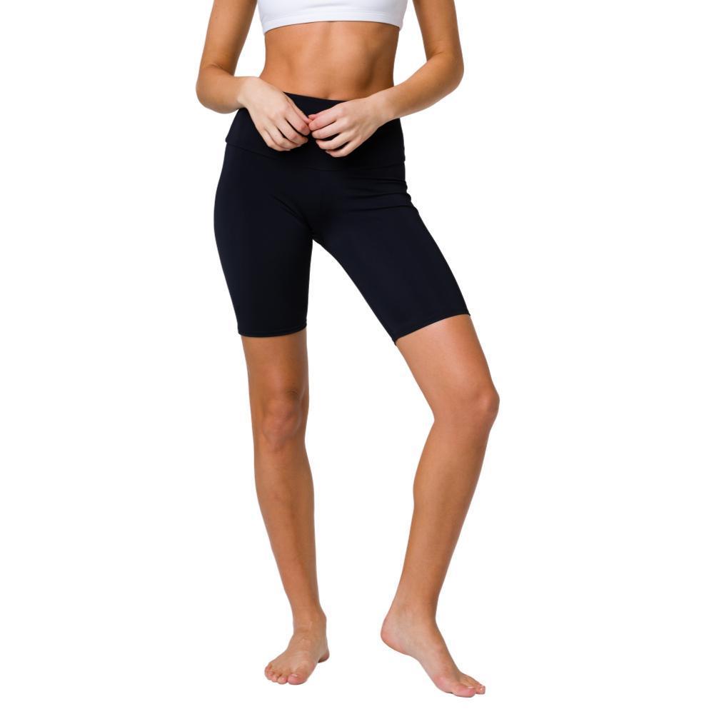 Onzie Women's High Rise Biker Shorts BLACK