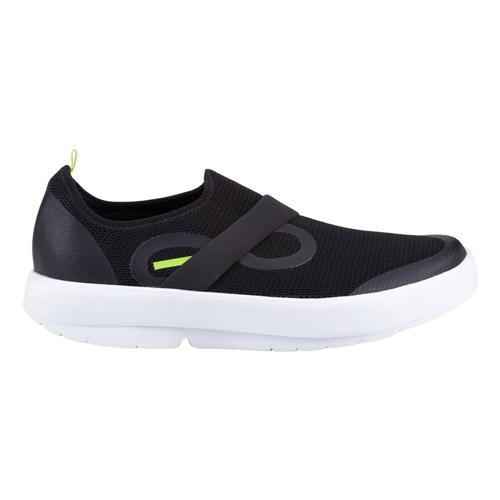 OOFOS Men's OOmg Low Shoes Blk.Wht