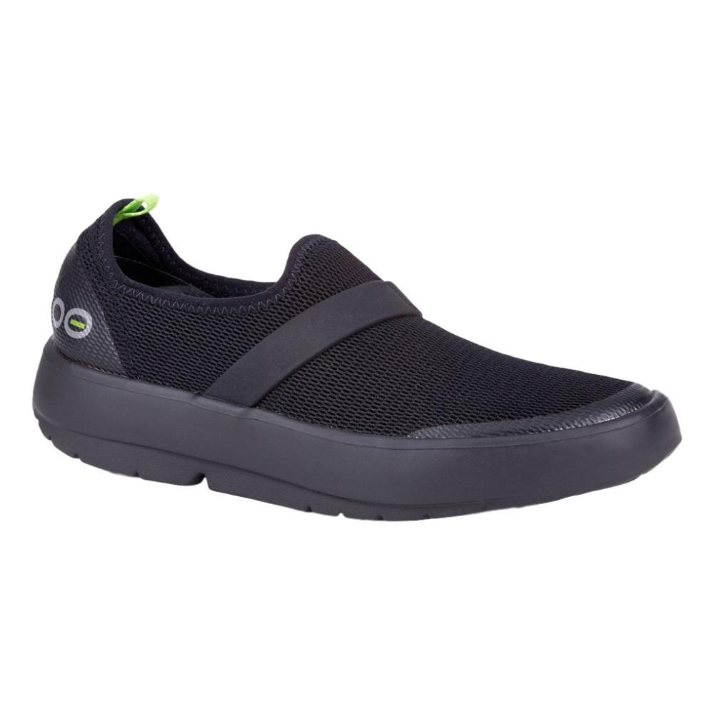 OOFOS Women's OOmg Low Shoes BLK.BLK