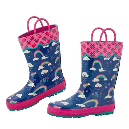 Stephen Joseph Kids Rain Boots Rainbow18z