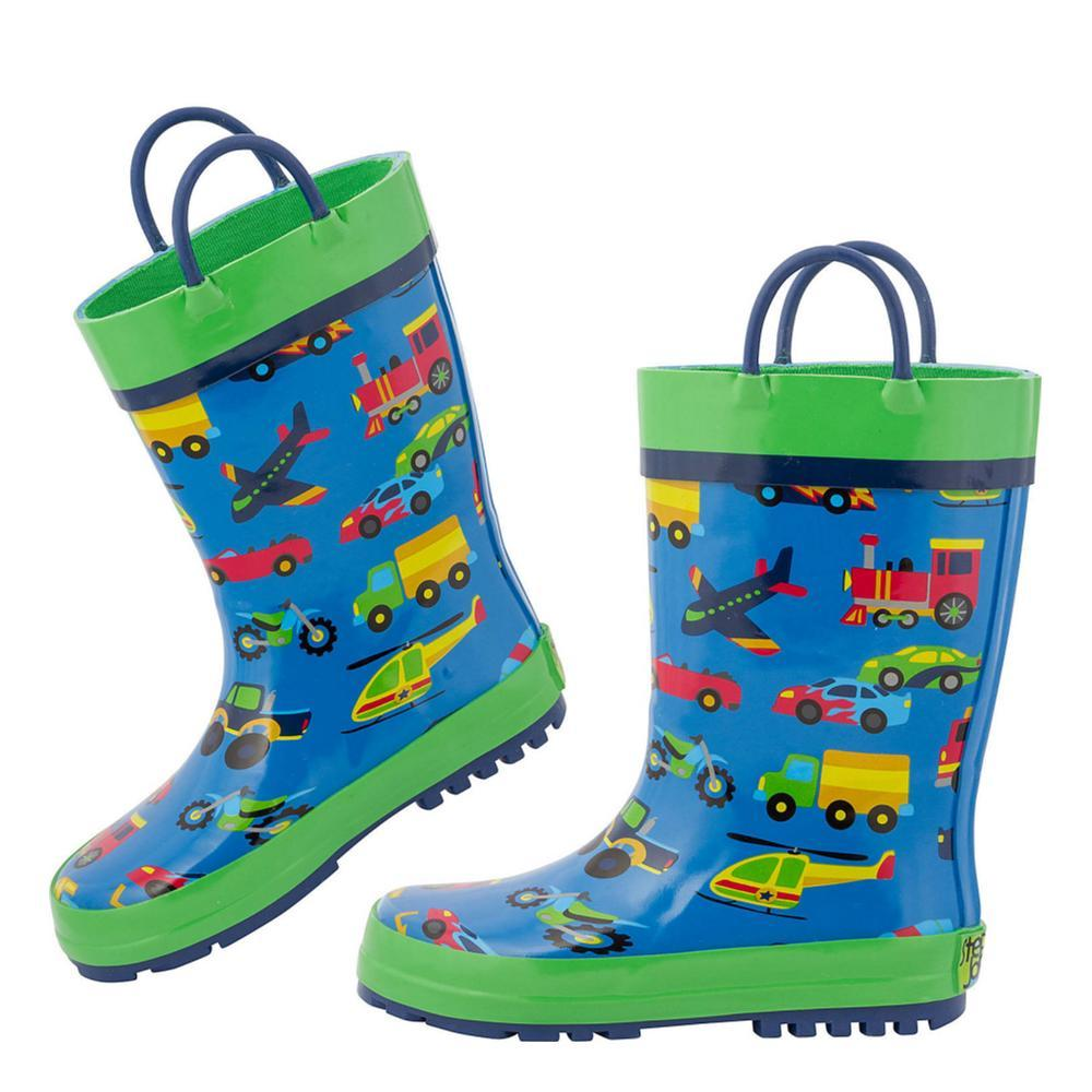 Stephen Joseph Kids Rain Boots TRANSPT62Z