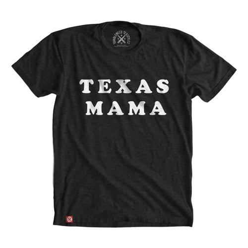 Tumbleweed TexStyles Women's Short Sleeve Texas Mama T-Shirts Black