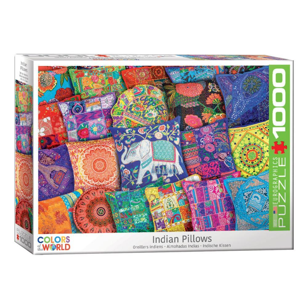 Eurographics Indian Pillows 1000- Piece Jigsaw Puzzle