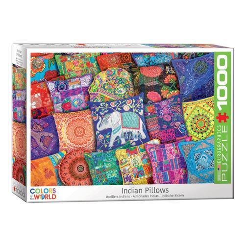 EuroGraphics Indian Pillows 1000-Piece Jigsaw Puzzle