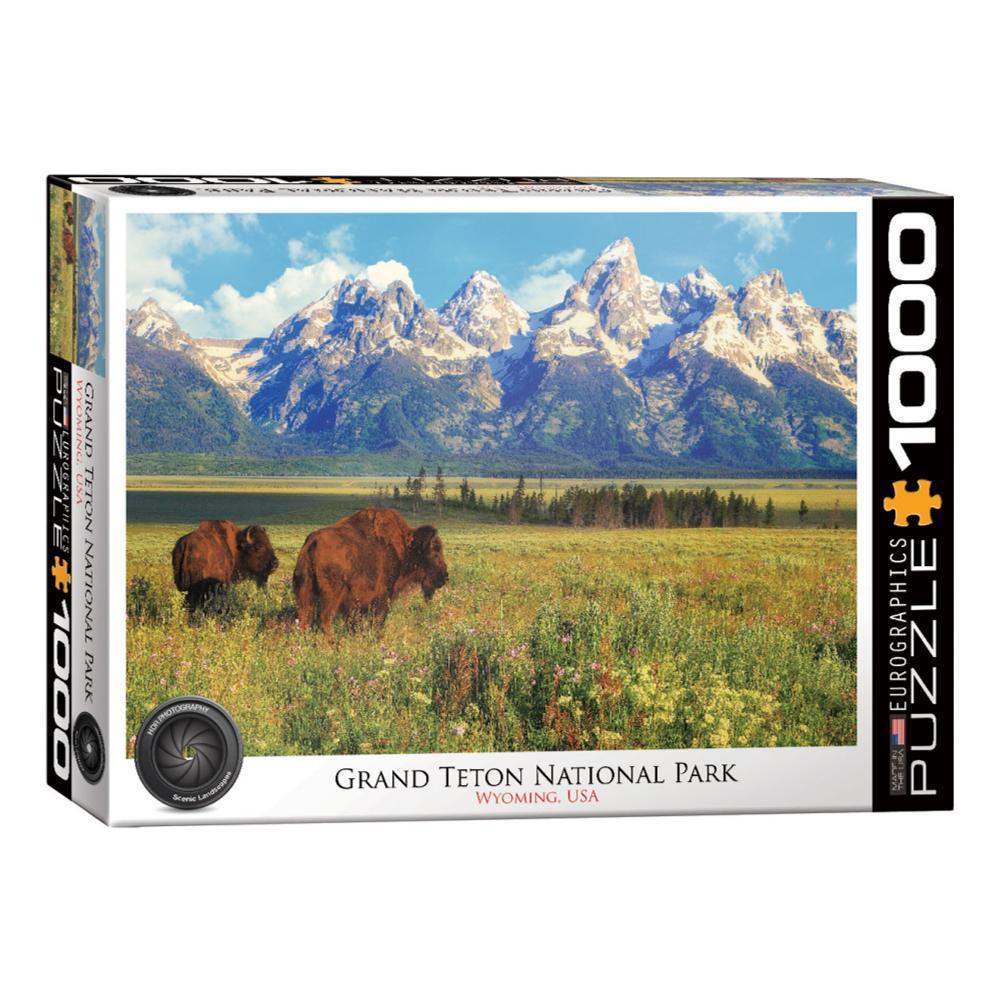 Eurographics Grand Teton National Park 1000- Piece Jigsaw Puzzle