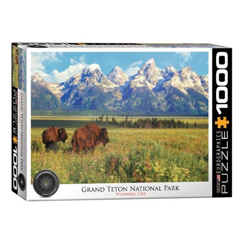 EuroGraphics Grand Teton National Park 1000-Piece Jigsaw Puzzle
