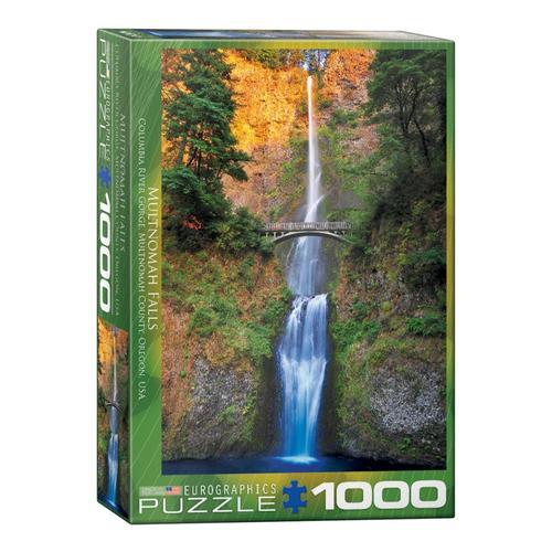 EuroGraphics Multnomah Falls Oregon 1000-Piece Jigsaw Puzzle