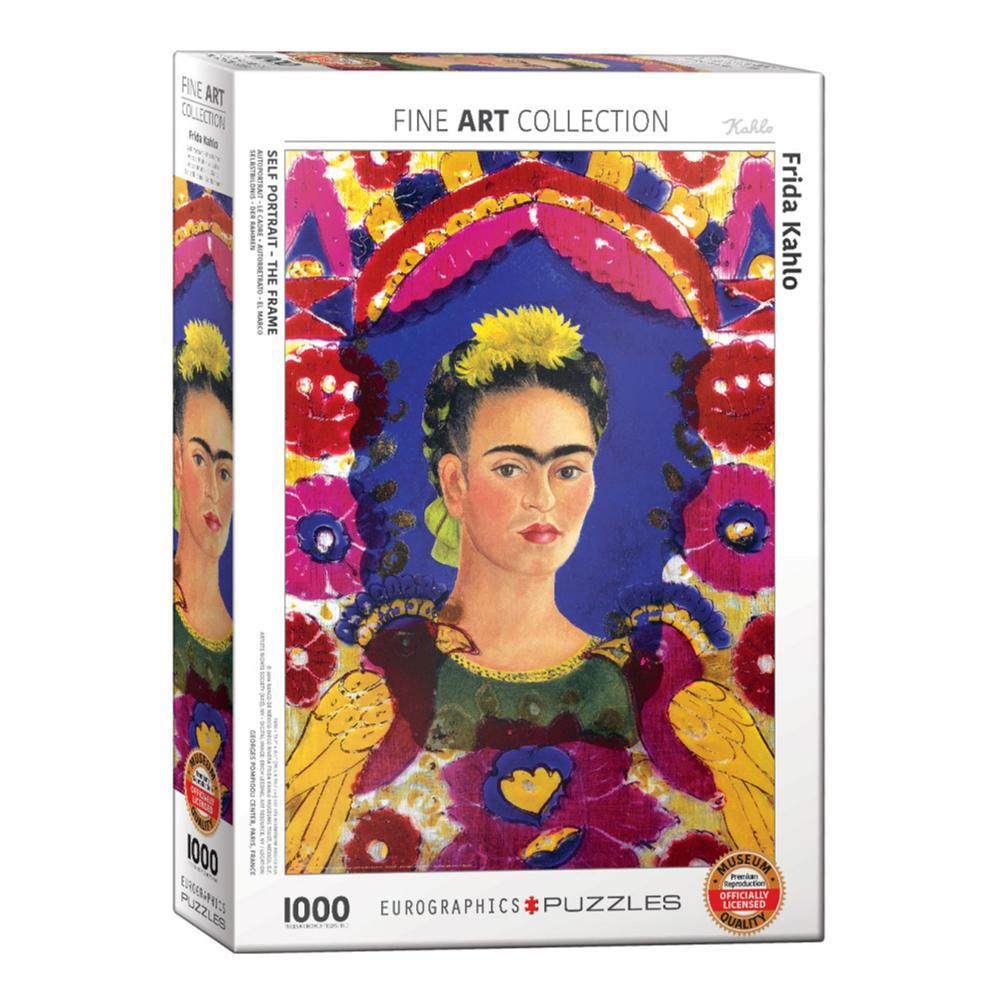 Eurographics Self- Portrait The Frame By Frida Kahlo 1000- Piece Jigsaw Puzzle