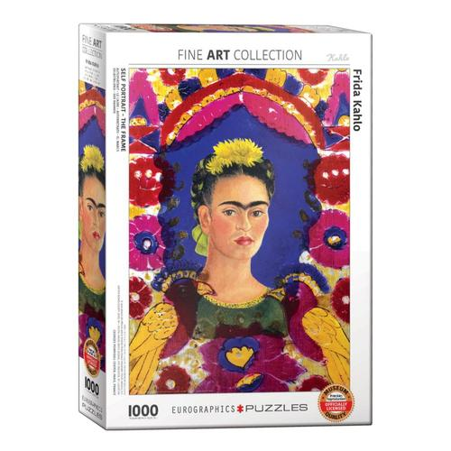 EuroGraphics Self-Portrait The Frame by Frida Kahlo 1000-Piece Jigsaw Puzzle