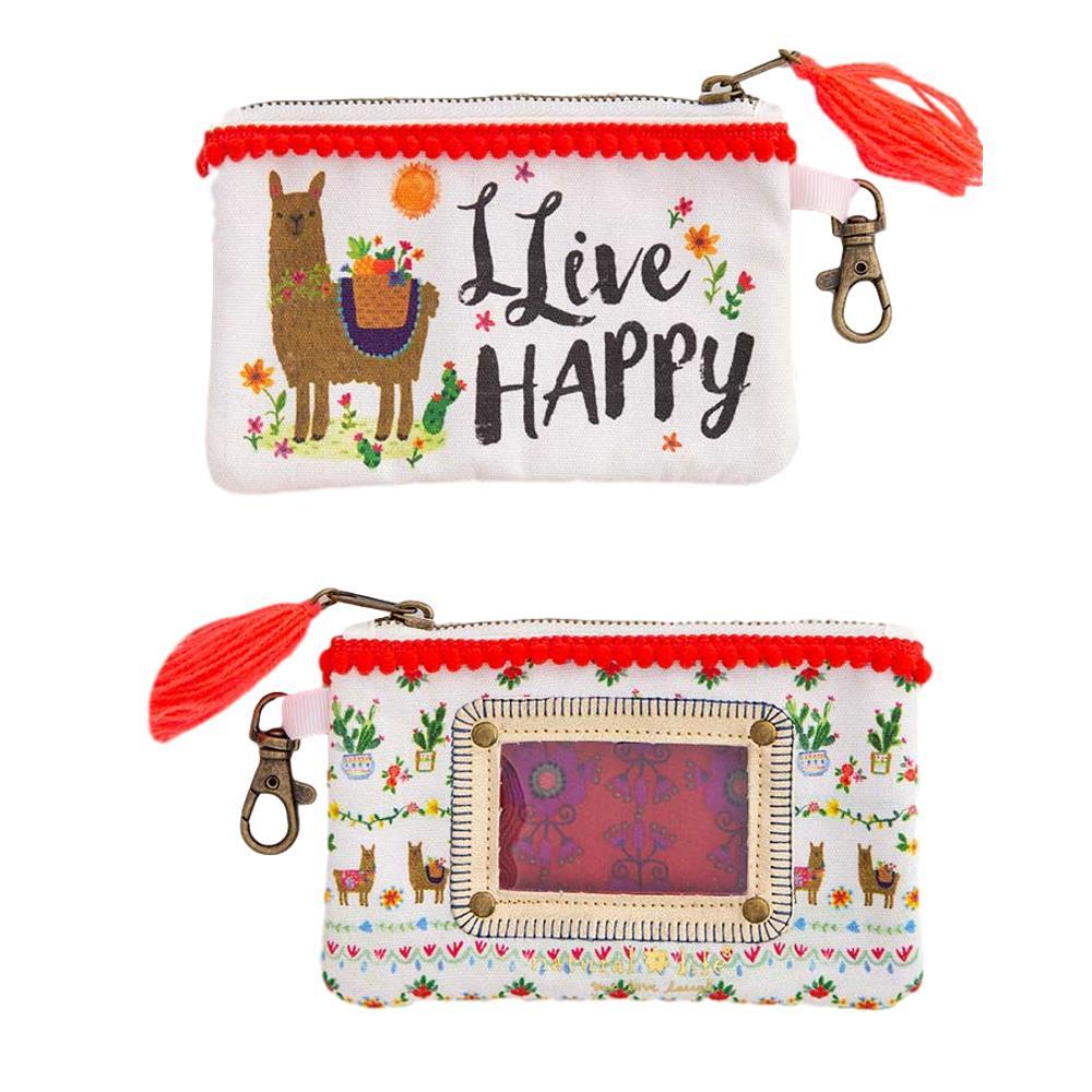 Natural Life Llive Happy Id Pouch
