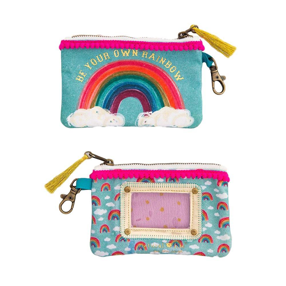 Natural Life Be Your Own Rainbow Id Pouch