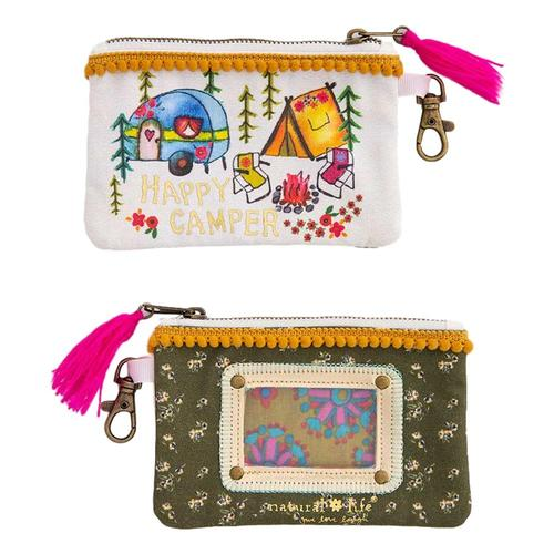 Natural Life Happy Camper ID Pouch