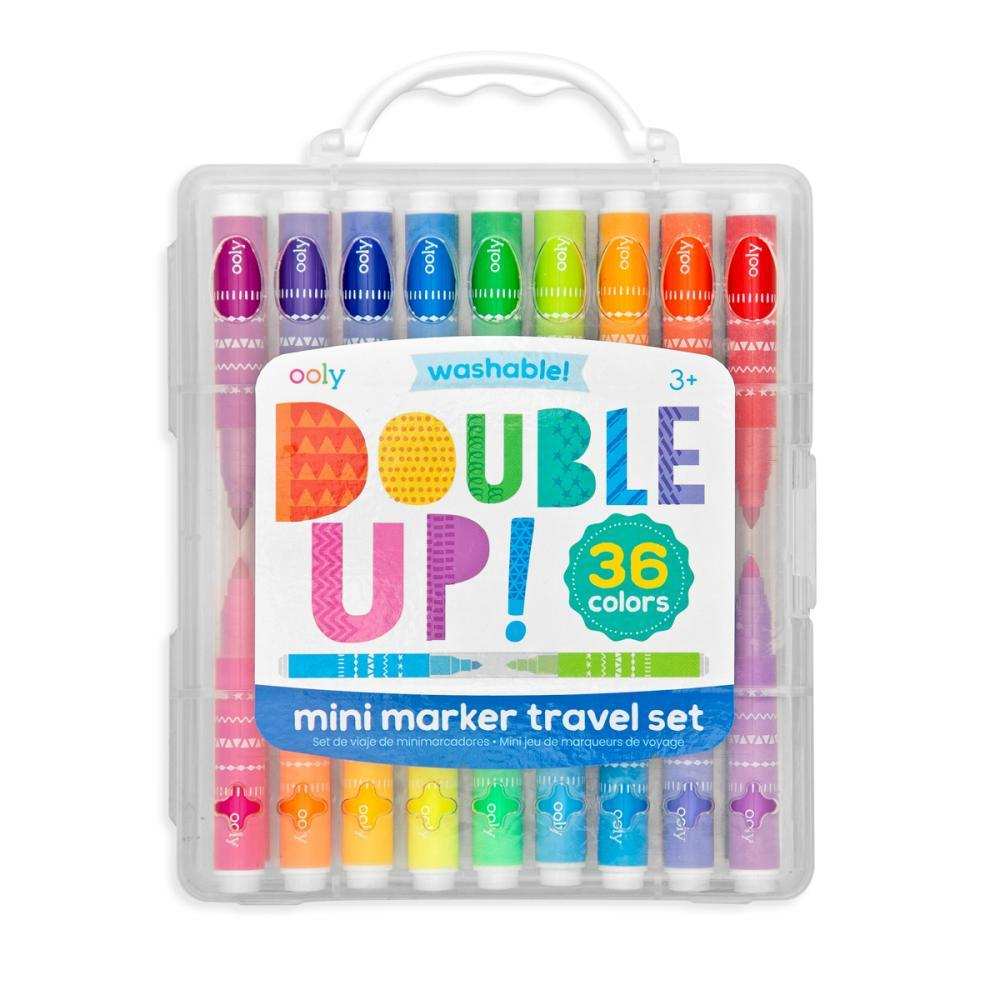 Ooly Double Up! 2- In- 1 Mini Markers - Set Of 36